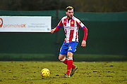 Dorking Wanderers Dean Gunner during the Ryman League - Div One South match between Dorking Wanderers and Lewes FC at Westhumble Playing Fields, Dorking, United Kingdom on 28 January 2017. Photo by Jon Bromley.