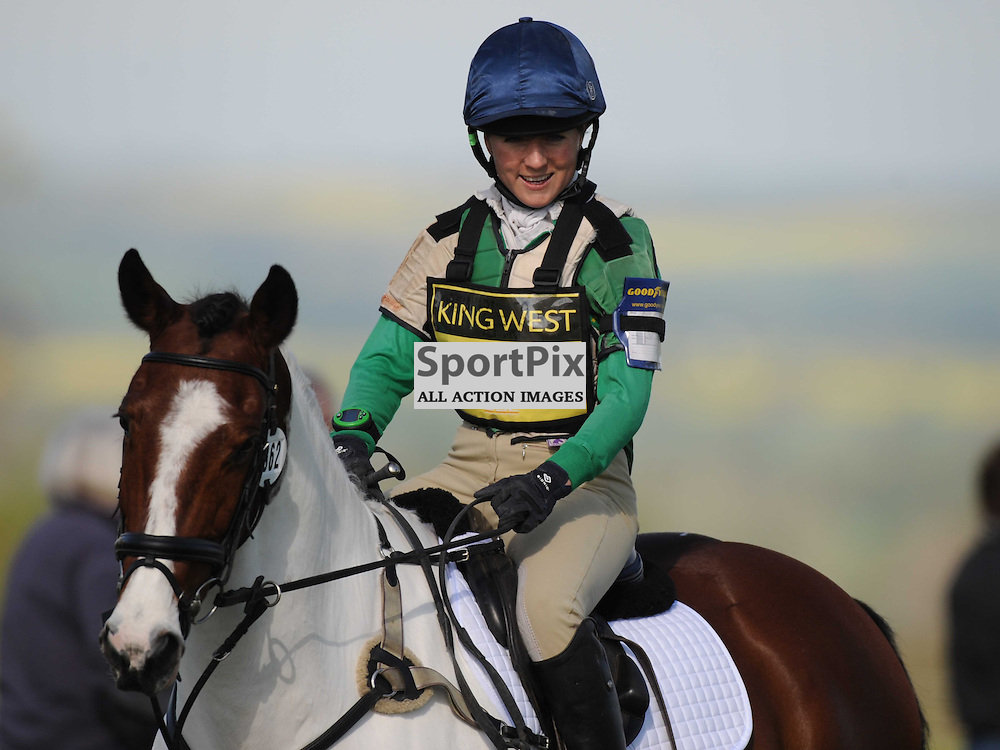 Alex Postolowsky (Russia) on Tulla Clover, Brigstock International Horse Trials, CIC Section Cross Country,Rockingham Castle Saturday 3rd May 2014