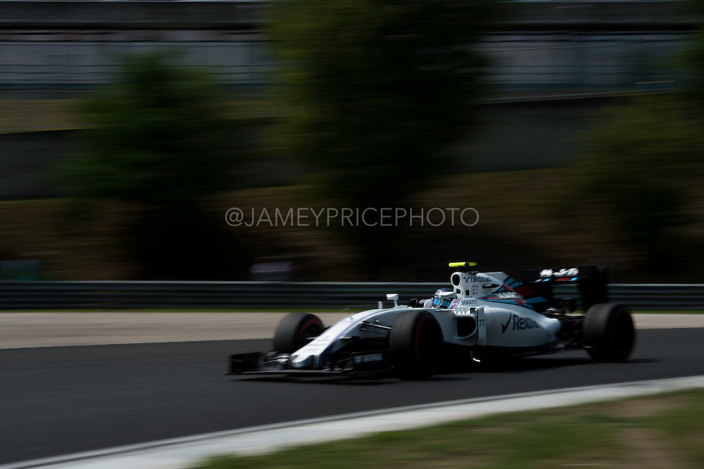 July 21-24, 2016 - Hungarian GP, Valtteri Bottas (FIN), Williams Martini Racing