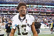 NASHVILLE, TN - DECEMBER 22:  Michael Thomas #13 of the New Orleans Saints walks off the field after a game against the Tennessee Titans at Nissan Stadium on December 22, 2019 in Nashville, Tennessee. The Saints defeated the Titans 38-28.  (Photo by Wesley Hitt/Getty Images) *** Local Caption *** Michael Thomas