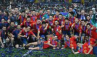 FUSSBALL UEFA U21-EUROPAMEISTERSCHAFT FINALE 2019  in Italien  Spanien - Deutschland   30.06.2019 JUBEL Sieger Spanien; Siegerehrung, Teamjubel