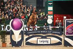 Skrzyczynski Jaroslaw, (POL), Crazy Quick<br /> Longines FEI World Cup<br /> CSIO Leipzig 2016<br /> © Hippo Foto - Stefan Lafrentz
