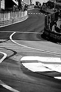 May 25-29, 2016: Monaco Grand Prix. Monaco track /circuit detail with run from Saint Devot to Casino square