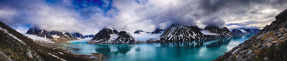 Magdalenafjord Svalbard