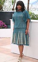 Octavia Spencer, actress, at the Fruitvale Station film photocall at the Cannes Film Festival 16th May 2013