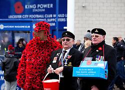 Poppy Sellers outside the Kingpower Stadium - Mandatory by-line: Robbie Stephenson/JMP - 06/11/2016 - FOOTBALL - King Power Stadium - Leicester, England - Leicester City v West Bromwich Albion - Premier League