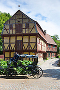 Den Gamle By, The Old Town, open-air folk museum at Aarhus,  East Jutland, Denmark