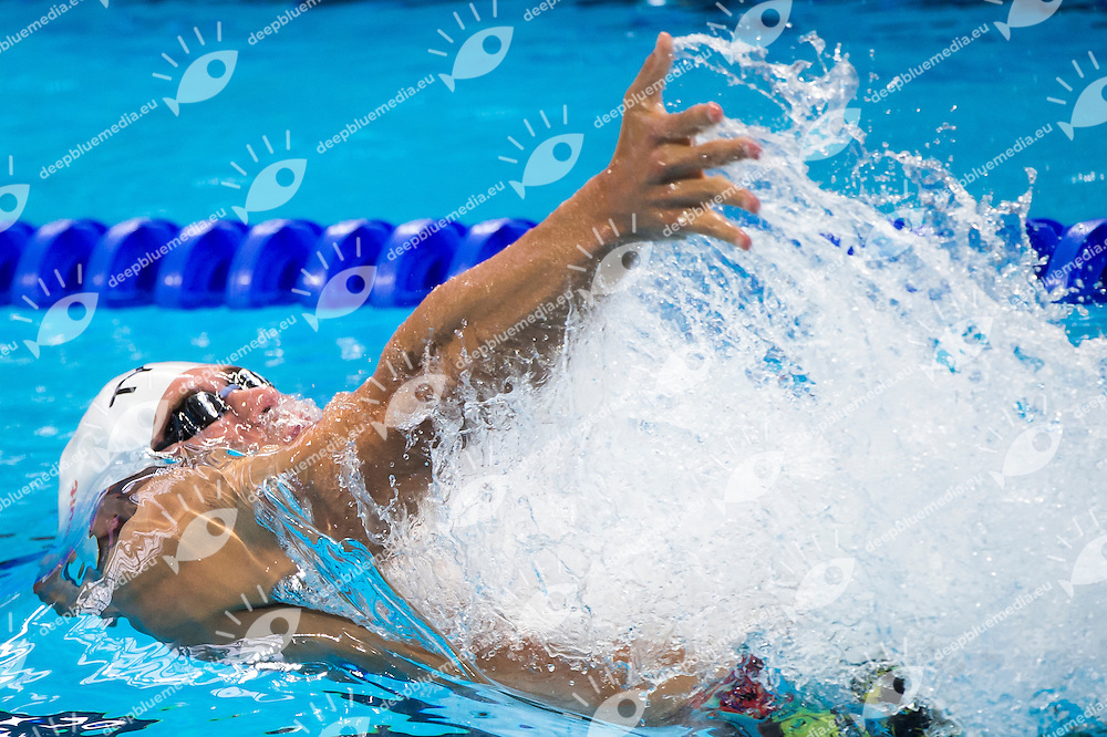 GREVERS Matt Team USA <br /> Swimming - Men's 4x100m medley relay heats <br /> Day 17 09/08/2015<br /> XVI FINA World Championships Aquatics Swimming<br /> Kazan Tatarstan RUS July 24 - Aug 9 2015 <br /> Photo Giorgio Perottino/Deepbluemedia/Insidefoto