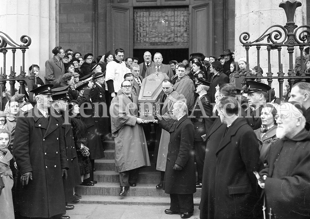 Alfie Byrne's funeral.<br />
