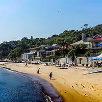 The beach at Watson Bay near Sydney Australia
