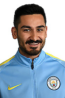 Manchester City's German midfielder Ilkay Gundogan arrives to meet members of the media at the City Football Academy in Manchester, north west England on July 3, 2016.<br /> llkay Gundogan is the first signing of the Pep Guardiola era. The 25-year-old German midfielder moved from Borussia Dortmund on a four-year contract. Gundogan has won 16 caps for Germany, scoring four goals, but is ruled out of the European Championship finals with a knee injury.<br />  / AFP / OLI SCARFF        (Photo credit should read OLI SCARFF/AFP/Getty Images)