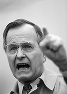 A 29.4 MG IMAGE OF:..President Bush making a point..Photo by Dennis Brack