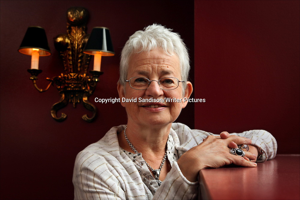 Jacqueline Wilson, English author best known for her Tracy Beaker books. Photographed in London on 9th July 2009.<br /> <br /> Picture by David Sandison/Writer Pictures<br /> <br /> WORLD RIGHTS