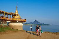 Myanmar (ex Birmanie), Province de Karen, Hpa-an, Pagode Shweyinhmyaw // Myanmar (Burma), Karen state, Hpa-an, Shweyinhmyaw pagoda