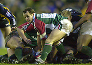 © Peter Spurrier/Intersport Images .Tel + 441494783165 email images@Intersport-images.com.27/12/2003 - Photo  Peter Spurrier.2003/04 Zurich Rugby Premiership Leicester v Leeds.Tigers's Austin Healey, working at the back of the scrum..
