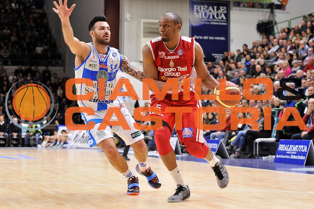 DESCRIZIONE : Campionato 2014/15 Serie A Beko Dinamo Banco di Sardegna Sassari - Giorgio Tesi Group Pistoia<br /> GIOCATORE : C.J. Williams<br /> CATEGORIA : Palleggio<br /> SQUADRA : Giorgio Tesi Group Pistoia<br /> EVENTO : LegaBasket Serie A Beko 2014/2015 <br /> GARA : Dinamo Banco di Sardegna Sassari - Giorgio Tesi Group Pistoia<br /> DATA : 01/02/2015 <br /> SPORT : Pallacanestro <br /> AUTORE : Agenzia Ciamillo-Castoria/C.Atzori <br /> Galleria : LegaBasket Serie A Beko 2014/2015