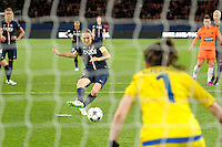 Goal de Sabrina Delannoy  - 28.03.2015 - Paris Saint Germain / Glasgow City FC - 1/2 Finale retour Champions League<br /> Photo : Andre Ferreira / Icon Sport
