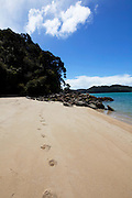 Tonga Quarry Beach, Kaiteriteri Coast, Abel Tasman National Park, South Island, New Zealand