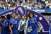 during the Premier League match between Chelsea and Sunderland at Stamford Bridge, London, England on 21 May 2017. Photo by Andy Walter.