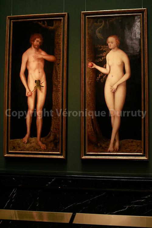 Paintings gallerie, Kunsthistorisches Museum, Vienna, Austria // Adam et Eve, Galerie de peinture du Kunsthistorisches Museum, Vienne, Autriche