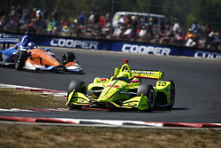 September 2, 2018 - Portland, Oregon, United Stated - SIMON PAGENAUD (22) of France battles for position during the Portland International Raceway at Portland International Raceway in Portland, Oregon. (Credit Image: © Justin R. Noe Asp Inc/ASP via ZUMA Wire)