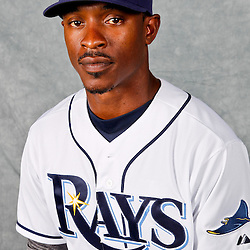 February 29, 2012; Port Charlotte, FL, USA; Tampa Bay Rays center fielder B.J. Upton (2) poses for a portrait during photo day at Charlotte Sports Park.  Mandatory Credit: Derick E. Hingle-US PRESSWIRE