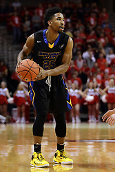 16 November 2015: Ronnye Beamon. Illinois State Redbirds host the Morehead State Eagles at Redbird Arena in Normal Illinois (Photo by Alan Look)