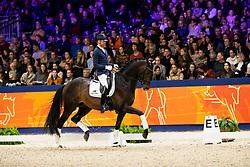 Hanzon Theo, NED, Johnny Cash<br /> KWPN hengstenkeuring - 's Hertogenbosch 2020<br /> © Hippo Foto - Dirk Caremans<br /> 01/02/2020