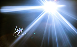 05.01.2015, Paul Ausserleitner Schanze, Bischofshofen, AUT, FIS Ski Sprung Weltcup, 63. Vierschanzentournee, Qualifikation, im Bild Stefan Kraft (AUT) // during Qualification of 63rd Four Hills Tournament of FIS Ski Jumping World Cup at the Paul Ausserleitner Schanze, Bischofshofen, Austria on 2015/01/05. EXPA Pictures © 2015, PhotoCredit: EXPA/ JFK
