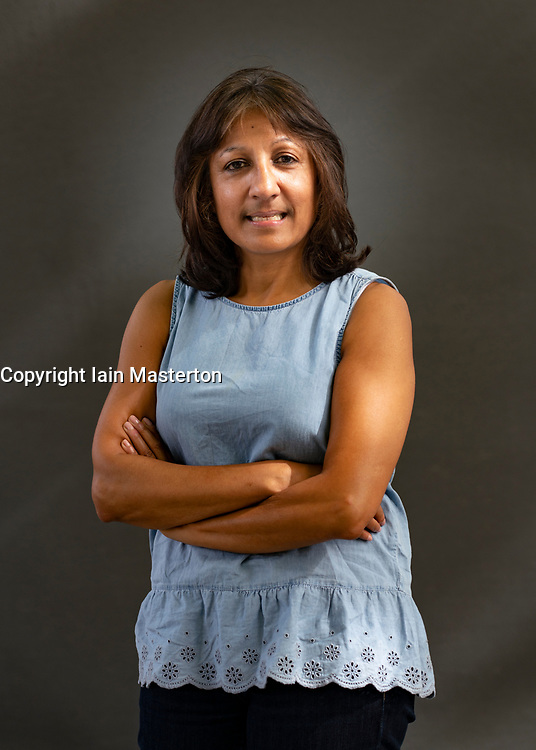 Edinburgh, Scotland, UK. 23 August 2019. Talat Ahmed is co-director of the Centre for South East Asian studies at the University of Edinburgh. In her book, Mohandas Gandhi: Experiments in Civil Disobedience, she asks was Gandhi's non violent approach as successful as we imagine?. Iain Masterton/Alamy Live News.