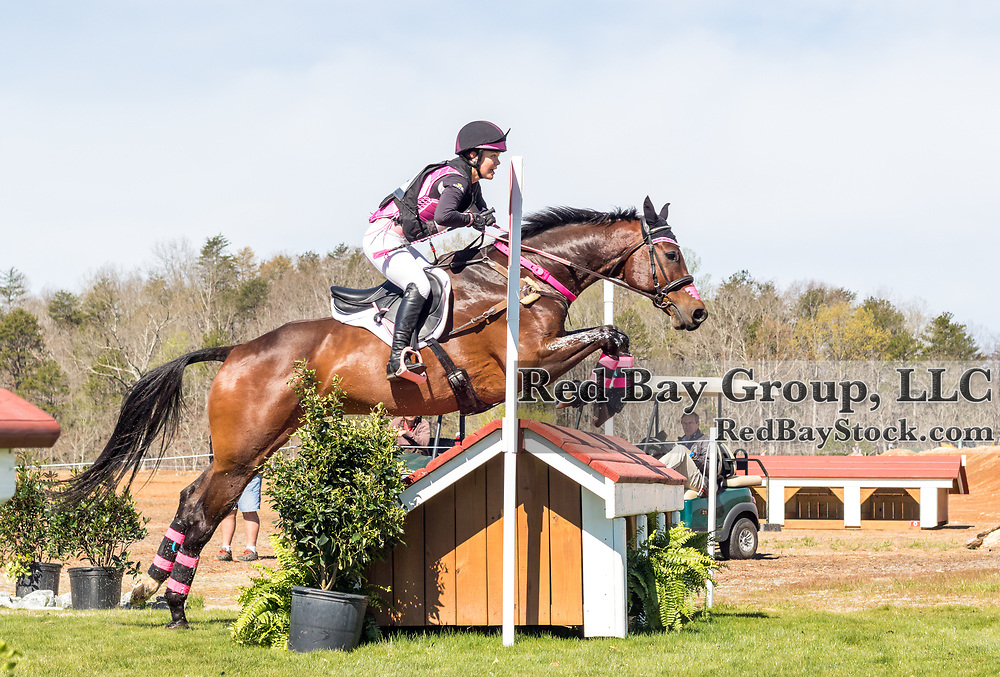 Charlotte Collier and Clifford M at The Fork Horse Trials at the Tryon International Equestrian Center in Mill Spring, North Carolina.