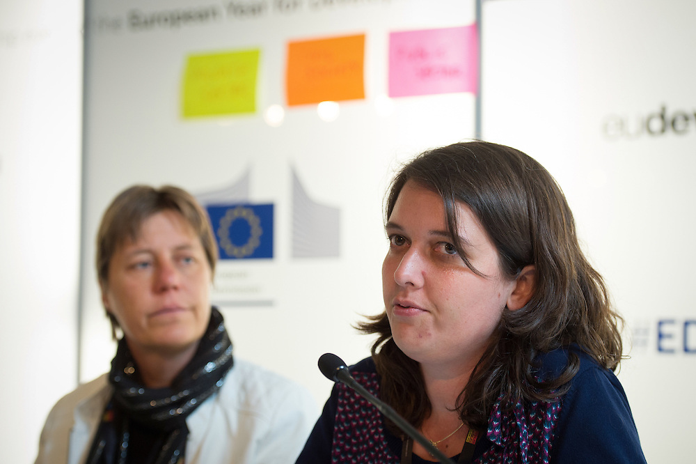 03 June 2015 - Belgium - Brussels - European Development Days - EDD - Urban - Growing food in greener cities - The role of urban and peri-urban horticulture - Katrien Verbeke<br /> Deputy Director - Department of Environment - City of Gent &copy; European Union