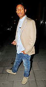 01.JULY.2009 - LONDON<br /> <br /> US HIP HOP STAR PHARELL WILLIAMS LEAVING CIPRIANI'S RESTAURANT, MAYFAIR.<br /> <br /> BYLINE: EDBIMAGEARCHIVE.COM<br /> <br /> *THIS IMAGE IS STRICTLY FOR UK NEWSPAPERS &amp; MAGAZINE ONLY*<br /> *FOR WORLDWIDE SALES &amp; WEB USE PLEASE CONTACT EDBIMAGEARCHIVE - 0208 954 5968*