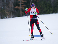 St Paul's School Nordic skate race at Holderness.  Karen Bobotas Photographer