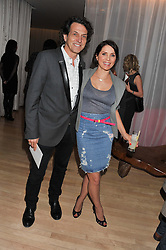 STEPHEN WEBSTER and SADIE FROST at the 2012 Rodial Beautiful Awards held at The Sanderson Hotel, Berners Street, London on 6th March 2012.