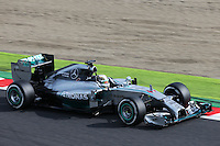 Lewis Hamilton (GBR) Mercedes AMG F1 W05.<br /> Japanese Grand Prix, Saturday 4th October 2014. Suzuka, Japan.
