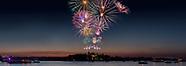 July 4th 2019 Fireworks Alexandria Bay New York USA