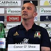 20160524 Rugby : Presentazione Conor O'Shea