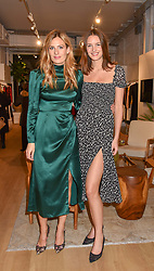 20 November 2019 - Left to right, Tansy Aspinall and Victoria van Holthe at a dinner to celebrate the collaboration of jewellers Tada & Toy with Lady Amelia Windsor held at Reformation, 186 Westbourne Grove, London.<br /> <br /> Photo by Dominic O'Neill/Desmond O'Neill Features Ltd.  +44(0)1306 731608  www.donfeatures.com