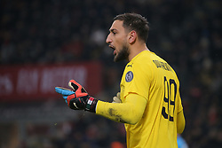 January 26, 2019 - Milan, Milan, Italy - Gianluigi Donnarumma #99 of AC Milan during the serie A match between AC Milan and SSC Napoli at Stadio Giuseppe Meazza on January 26, 2018 in Milan, Italy. (Credit Image: © Giuseppe Cottini/NurPhoto via ZUMA Press)