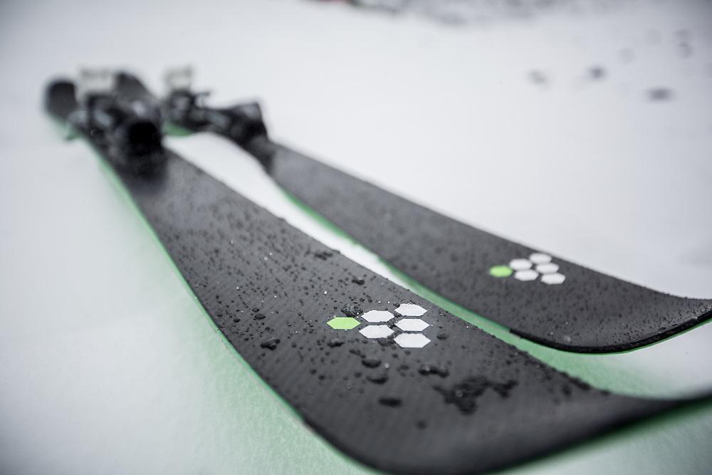 C6 Skis. September 2014. <br /> Copyright: Gareth Cooke/Subzero Images