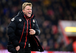 Bournemouth manager Eddie Howe gives his players directions. - Mandatory by-line: Alex James/JMP - 13/02/2017 - FOOTBALL - Vitality Stadium - Bournemouth, England - Bournemouth v Manchester City - Premier League