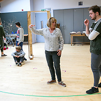 Rehearsal shots of Beauty & The Beast;<br /> Chichester Festival Theatre;<br /> Chichester, Sussex;<br /> 26th October 2017.<br /> <br /> © Pete Jones<br /> pete@pjproductions.co.uk