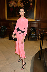 ERIN O'CONNOR at the LDNY Fashion Show and WIE Award Gala sponsored by Maserati held at The Goldsmith's Hall, Foster Lane, City of London on 27th April 2015.