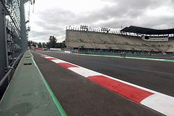 October 25, 2017 - EUM20171025DEP07.JPG.CIUDAD DE MÉXICO RacesCarreras-GP México.- Aspectos generales de la zona del Foro Sol del Autódromo Hermanos Rodríguez. La pista se aprecia en óptimas condiciones a dos días de que inicie el Gran Premio de México, 25 de octubre de 2017. Foto: Agencia EL UNIVERSALRenzo ChiquitoMAVC (Credit Image: © El Universal via ZUMA Wire)