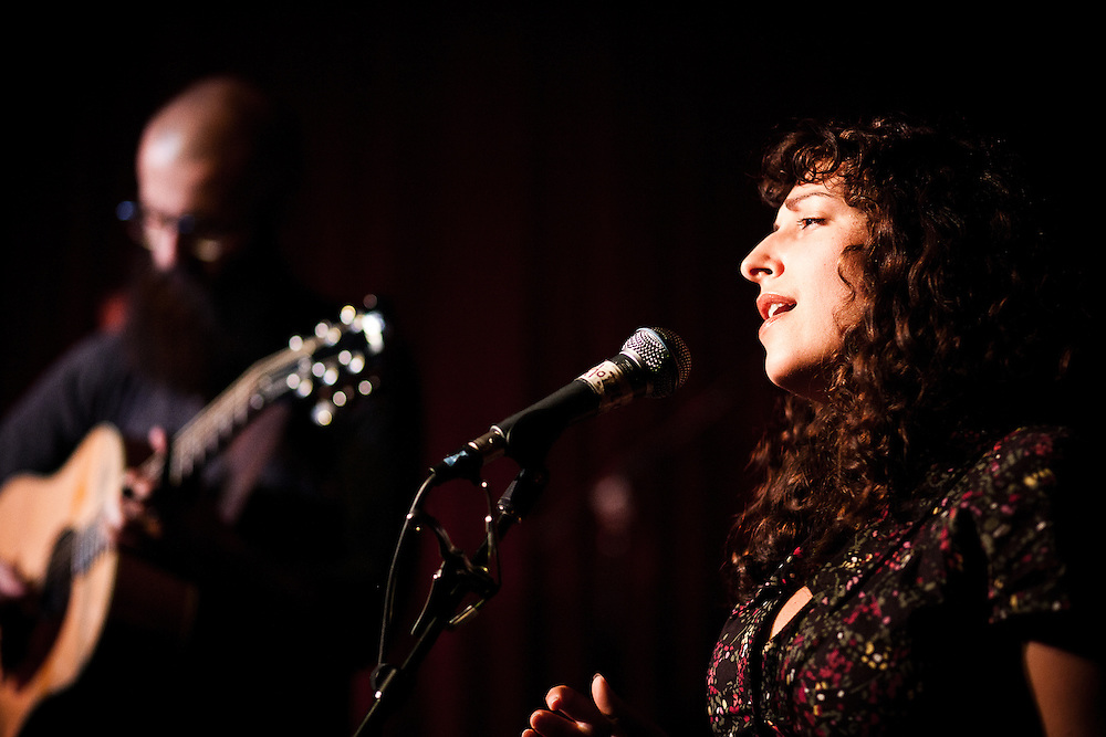 Rosi Golan and William Fitzsimmons at the Hotel Cafe, August 2010