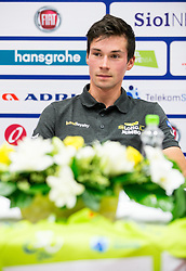 Primoz Roglic of Slovenia during press conference of 25th Tour de Slovenie 2018 cycling race, on June 12, 2018 in Hotel Livada, Moravske Toplice, Slovenia. Photo by Vid Ponikvar / Sportida