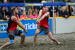 20150621 NED: Wildcard WK Beachvolleybal, Amstelveen<br /> In Amstelveen werd er voor de laatste ticket voor het WK gestreden / Marco Daalmeijer, Kees Spil