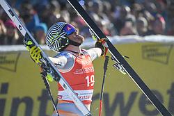 24.01.2020, Streif, Kitzbühel, AUT, FIS Weltcup Ski Alpin, SuperG, Herren, im Bild Kjetil Jansrud (NOR) Sieger // Kjetil Jansrud of Norway winner reacts after his run for the men's SuperG of FIS Ski Alpine World Cup at the Streif in Kitzbühel, Austria on 2020/01/24. EXPA Pictures © 2020, PhotoCredit: EXPA/ Erich Spiess