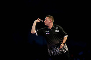 Chris Dobey during the PDC World Championship darts at Alexandra Palace, London, United Kingdom on 14 December 2018.